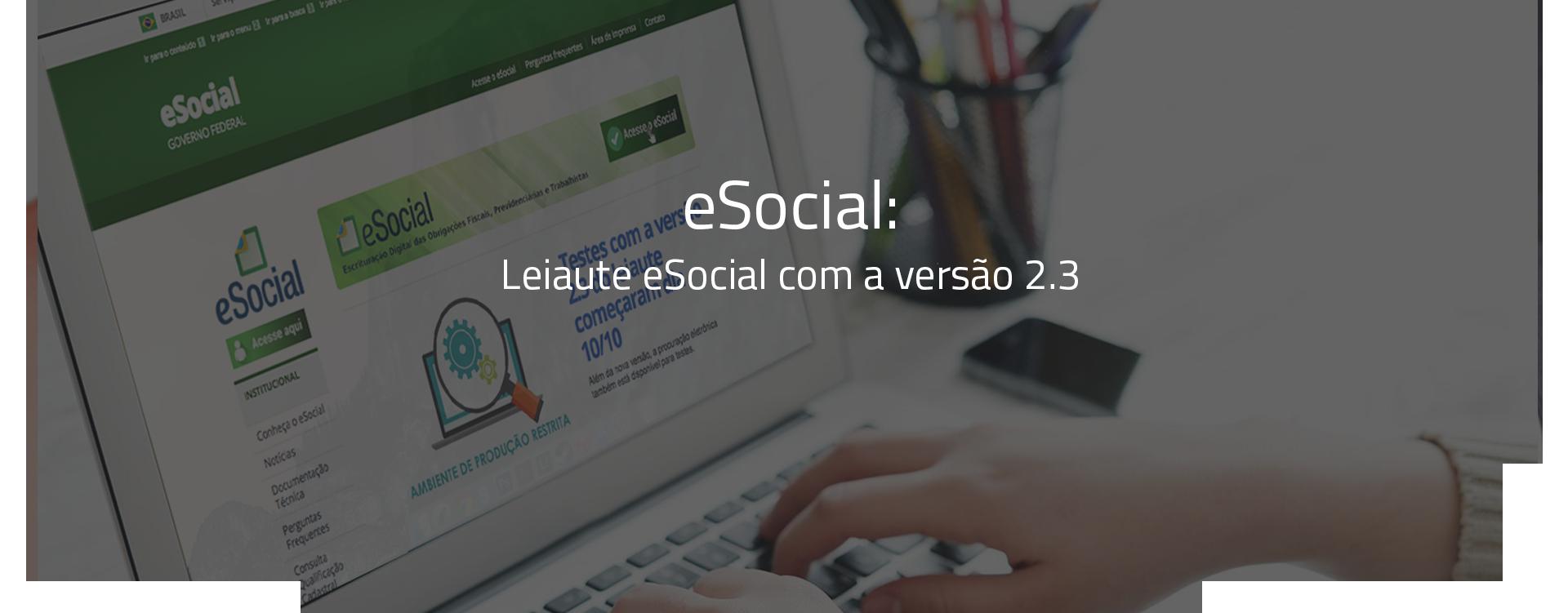 Cartilha eSocial - principais informações